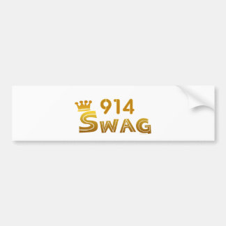 914 New York Swag Bumper Stickers