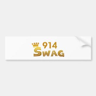 914 New York Swag Bumper Stickers