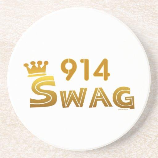 914 New York Swag Drink Coaster