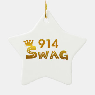 914 New York Swag Ornament