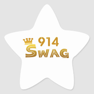 914 New York Swag Star Stickers