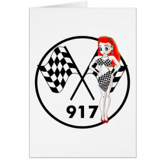 917 Peggy Pitstop Greeting Card