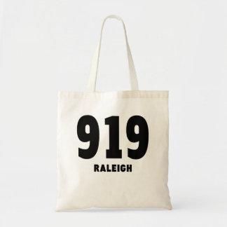 919 Raleigh Budget Tote Bag