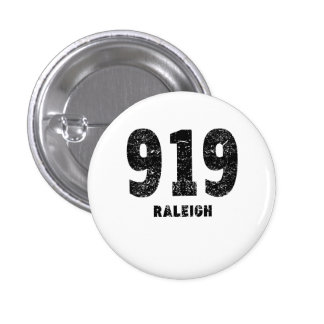 919 Raleigh Distressed 3 Cm Round Badge
