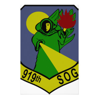 919th Special Operations Group Stationery Paper