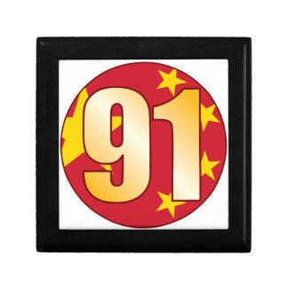 91 CHINA Gold Gift Box