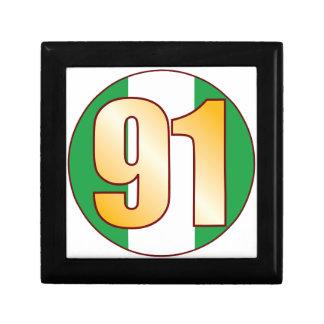 91 NIGERIA Gold Gift Box