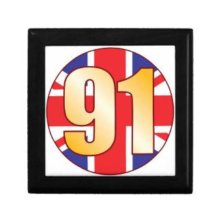 91 UK Gold Gift Box