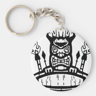 9213032011 Tiki (Rocker & Kustom) Keychains