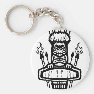 9213032011 Tiki (Rocker & Kustom) Key Chains