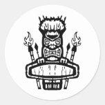 9213032011 Tiki (Rocker & Kustom) Stickers