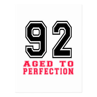 92 Aged to Perfection Postcard