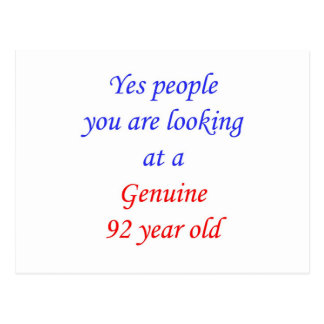 92  Genuine 92 Year Old Postcard