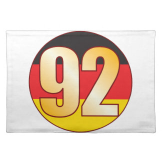 92 GERMANY Gold Placemat