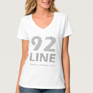 92 Line - Baekhyun Chanyeol Chen T-shirts