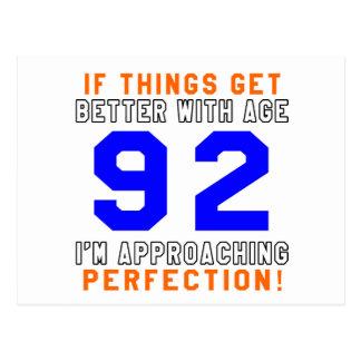 92 Perfection Birthday Designs Postcard