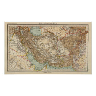 92 Persia, Afghanistan Poster