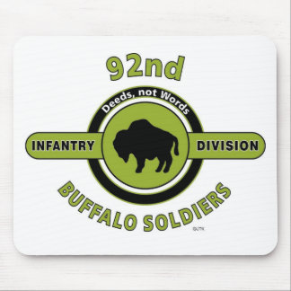 92ND INFANTRY DIVISION BUFFALO SOLDIERS MOUSE PADS