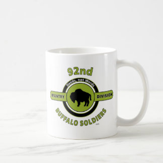 "92ND INFANTRY DIVISION ""BUFFALO SOLDIERS"" COFFEE MUG"