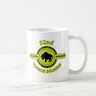 """92nd Infantry Division """"Buffalo Soldiers"""" WW II Mugs"""