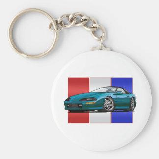 93-97 Camaro Basic Round Button Key Ring