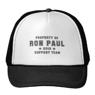93.PROPERTY-OF-RON-PAUL-2012 TRUCKER HATS