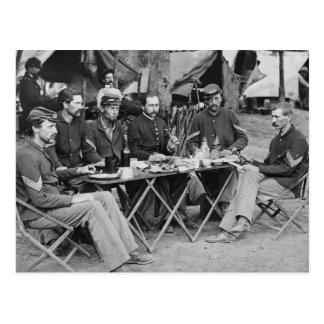 93rd New York Infantry, 1863 Postcard