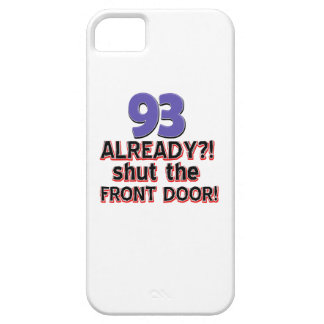 93rd year birthday party iPhone 5 cover