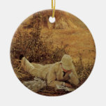 94 Degrees in the Shade, Sir Lawrence Alma Tadema Christmas Ornaments