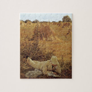 94 Degrees in the Shade, Sir Lawrence Alma Tadema Jigsaw Puzzle