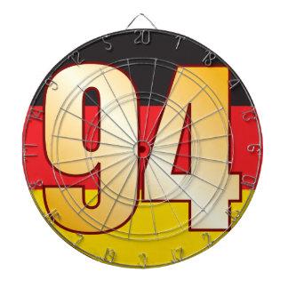 94 GERMANY Gold Dartboard