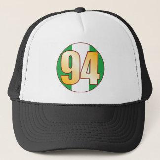 94 NIGERIA Gold Trucker Hat