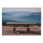 94. The perfect picnic spot, Mt. Shasta, WA Greeting Card