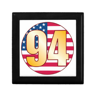 94 USA Gold Gift Box