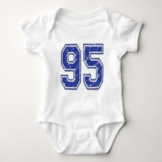 95 Custom Jersey Baby Bodysuit