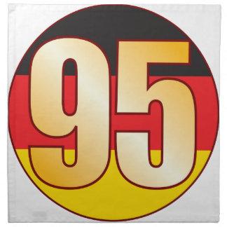 95 GERMANY Gold Napkin