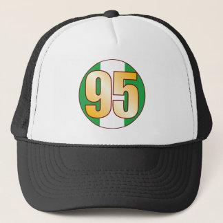 95 NIGERIA Gold Trucker Hat