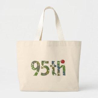 95th Birthday Balloon Gifts Jumbo Tote Bag