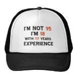 95th cool birthday designs cap