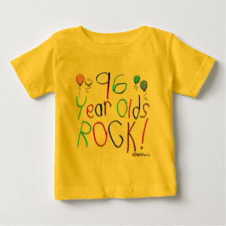 96 Year Olds Rock ! T-shirt