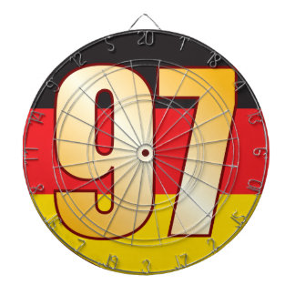 97 GERMANY Gold Dartboard