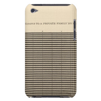 97 Persons to a family Barely There iPod Cover