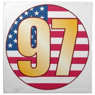 97 USA Gold Napkin