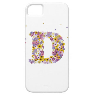 97th Birthday party, with flowered letters iPhone 5 Covers