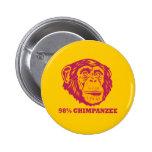 98% Chimpanzee Pins
