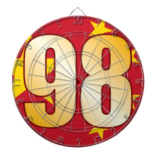 98 CHINA Gold Dartboard