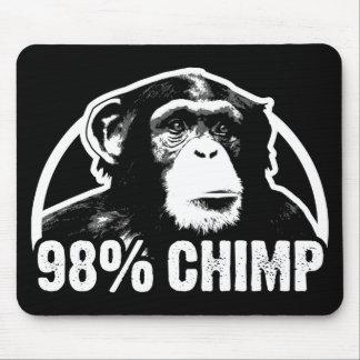 98 Percent Chimp Mouse Mat