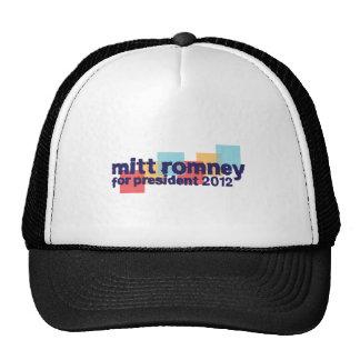 98.ROMNEY-2012 TRUCKER HATS
