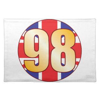 98 UK Gold Placemat