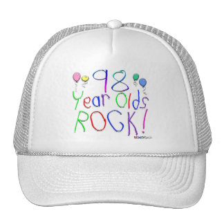 98 Year Olds Rock ! Cap